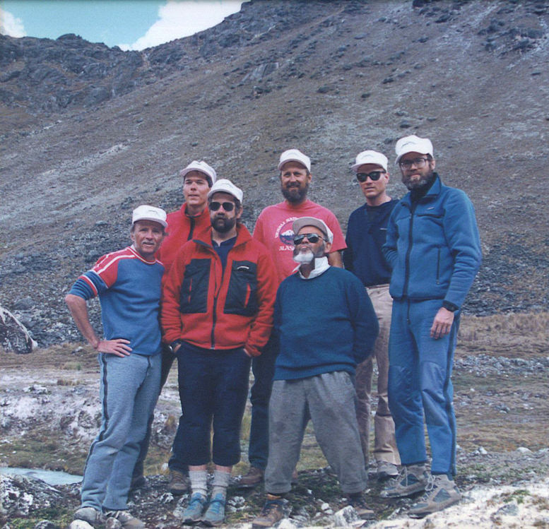 Andes Mountains, Andes mountaineering, Andes alpinism, Andes climbing, Bolivian Andes, Cordillera Real, 1989 Real Time Expedition, John Hessburg, Peter Delmissier, Eddie Boulton, Bolivia climbing, Bolivia mountaineering, Bolivia expeditions