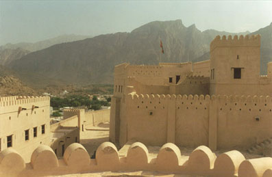 Nakhl Fort is a must-see on any Oman dive vacation.