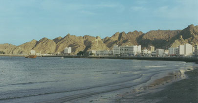 Ancient harbor in Old Muscat, a trade center for centuries past.